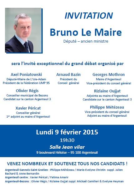 invitation le maire